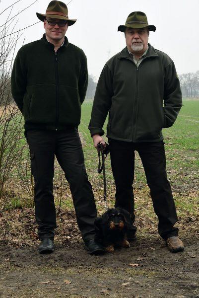Foto von Michael Hentschel, Quintus vom schwarzen Adel und Karl-Heinz Mann