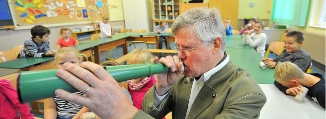 Rollende Waldschule - Foto: Joachim Kleine-Büning